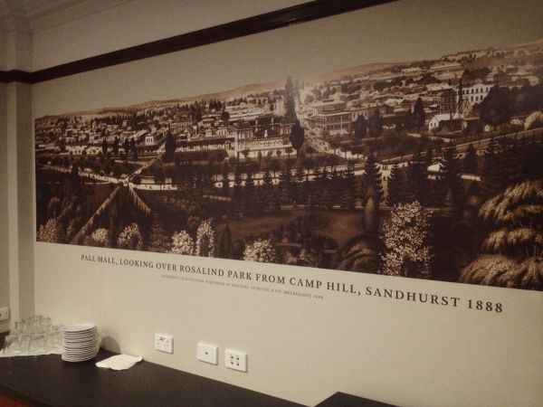 Image of Digitally Printed Wall Mural - All Seasons Bendigo Board Room