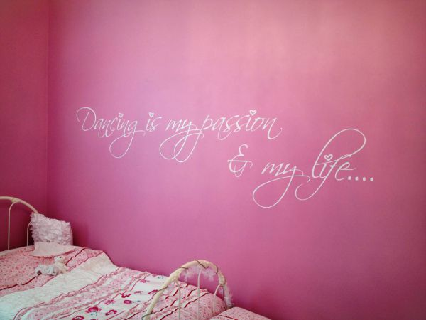 desired effects interiors wall mural lettering stickers