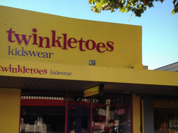 fascia signs shopfront cnc cut 3d lettering twinkletoes